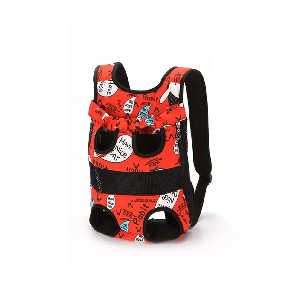 Lxrzls Puppy Dogs Cats Travel Bag Rucksack Nylon Portable Travel Pet Carrier Backpack