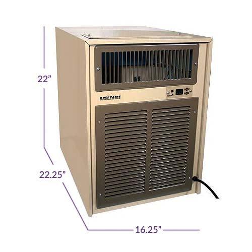 Breezaire WKL8000 Wine Cooler Unit w/ Sentry III - 2000 Cu. Ft., N/A by Breezaire (Image #3)