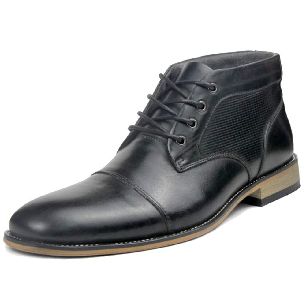 Cy Winter Hohe Spitzen-Schuh-echte Leder-Männer Formales Kleid Ankle Stiefel Für Männer Gentleman Martin Stiefel Der Besten