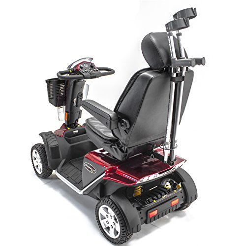 CRUTCH HOLDER for Most Pride Mobility, Go-Go, Drive, Golden, Challenger Scooter ()