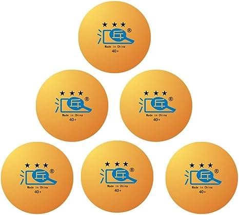 8HAOWENJU Tenis de Mesa, Tenis de Mesa 40 + 3 Estrellas 100 / Caja ...