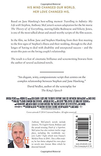 The Theory of Everything: The Screenplay: McCarten, Anthony: 9781846883743:  Amazon.com: Books