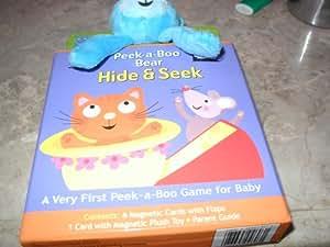 Infant Magnetic Peek a Boo Bear Hide & Seek