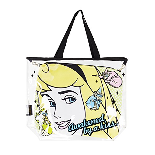 Disney Beauty and Beast Belle Tote Bag with Removable Cosmetic Pouch Included ()
