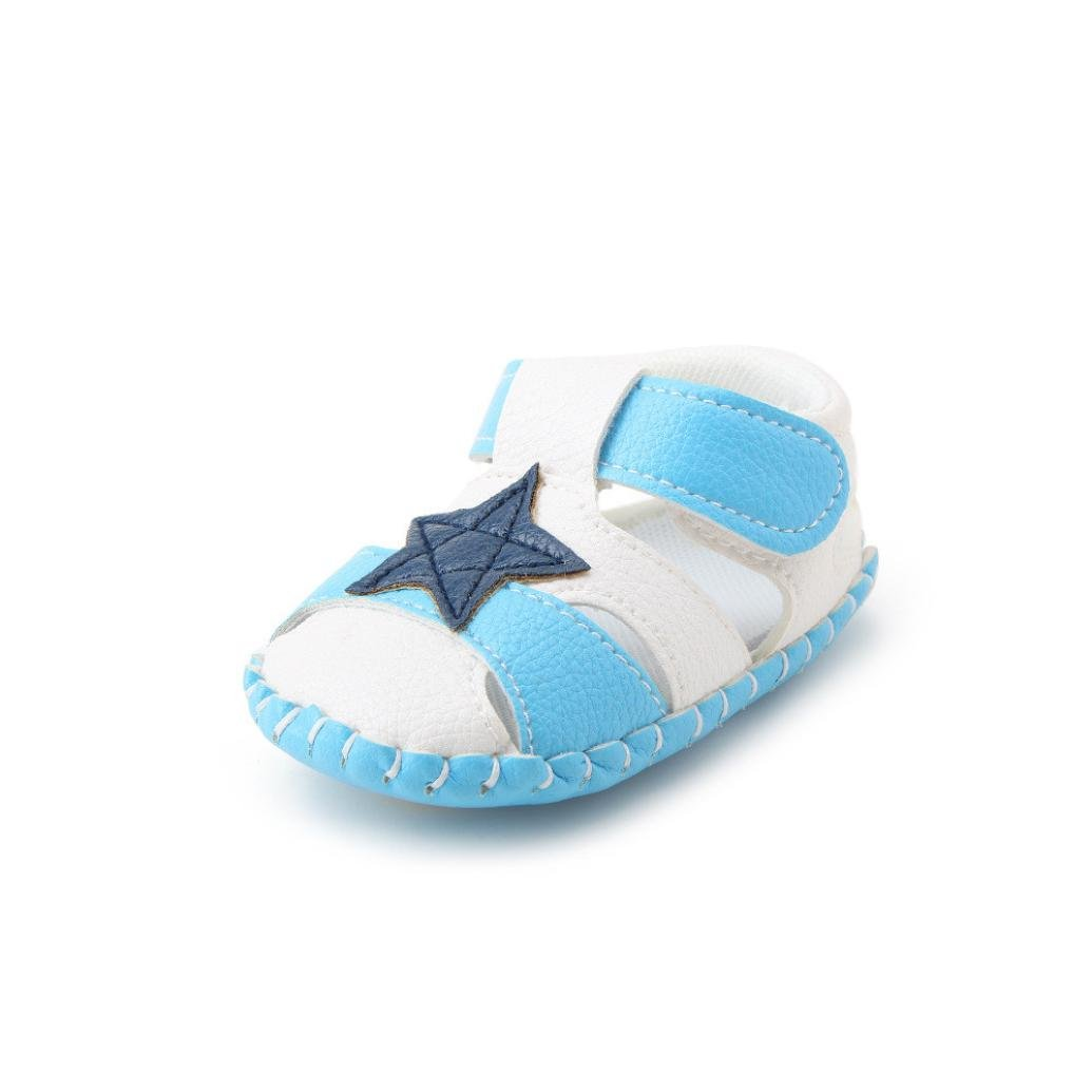 Voberry Baby Infant Boy Girl Soft Sole Shoes Summer Crib Sandals