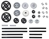 LEGO 33pc Technic gear, axle and Clutch gear! SET #4 Includes RARE CROWN GEARS (Mindstorms, EV3, NXT Robots!)