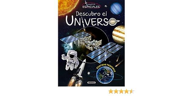 Descubro el universo (Pegatinas espaciles): Amazon.es: Susaeta, Equipo: Libros