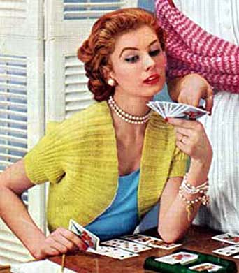 Easy & Quick Knitted Shrug Sweater Bolero in Ribbing