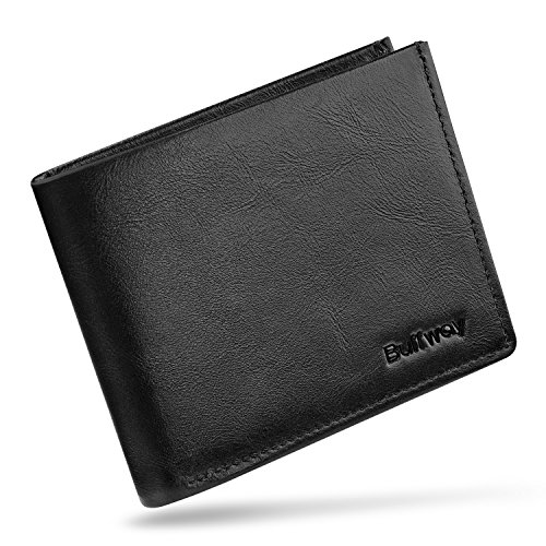 Buffway Genuine Leather Minimalist Bifold product image