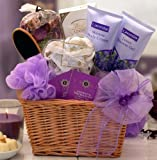 Lavender Relaxation Spa Gift Basket - Give Her a Relaxing Spa Day