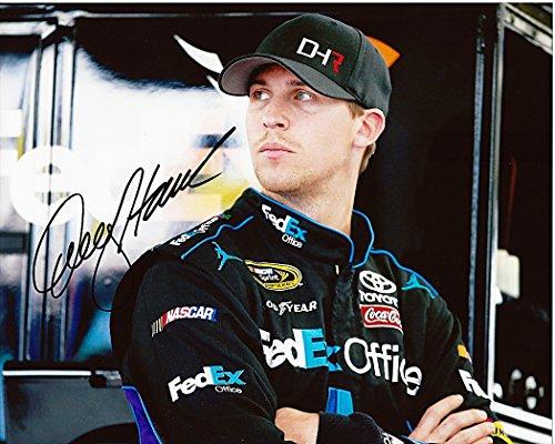 autographed-2014-denny-hamlin-11-fedex-office-racing-pre-race-gibbs-team-signed-8x10-nascar-glossy-p