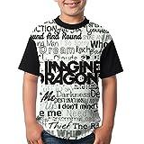 Newspaper Child's Boy's Girl Short Sleeve Round Neck Funny Blouse T-Shirt XL