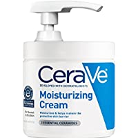 CeraVe Moisturizing Cream with Pump 16 oz Daily Face and Body Moisturizer for Dry Skin + $5 Gift Card