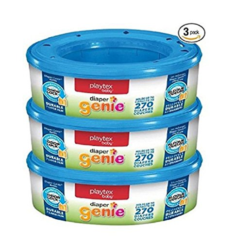 Witt Hamper (Diaper Genie Refills for Diaper Genie Diaper Pails - 270 Count (Pack of 3),)