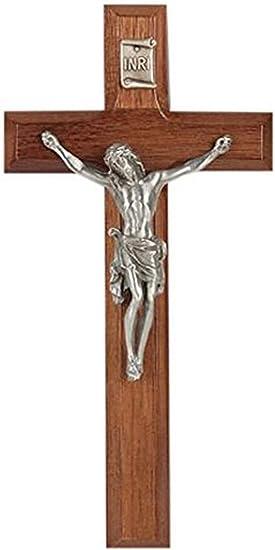 Fine Pewter Risen Christ Corpus WJ Hirten 31P-7G9 Pearlized Cross