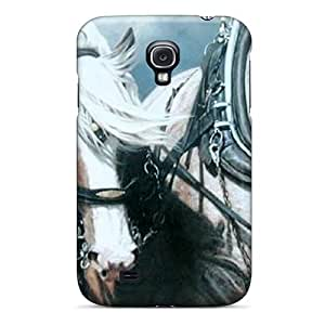 lintao diy New Horse Power Tpu Skin Case Compatible With Galaxy S4