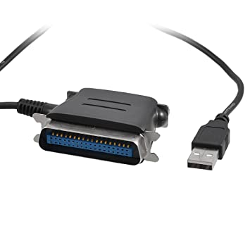 Amazon.com: HDE – Cable adaptador USB a puerto paralelo IEEE ...