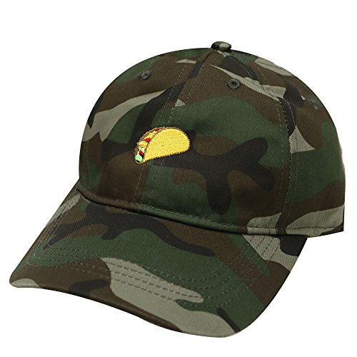 4b63cc28 City Hunter C104 Taco Emoji Cotton Baseball Cap Dad Hats 15 Colors (Camo) -  Buy Online in Oman. | Apparel Products in Oman - See Prices, Reviews and  Free ...