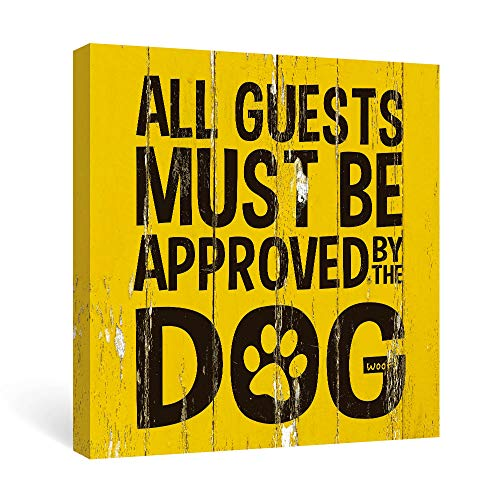 Quotes Wall Art of Animal Yellow and Black