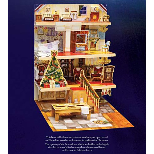 The Night Before Christmas 3D Pop-Up Advent Calendar