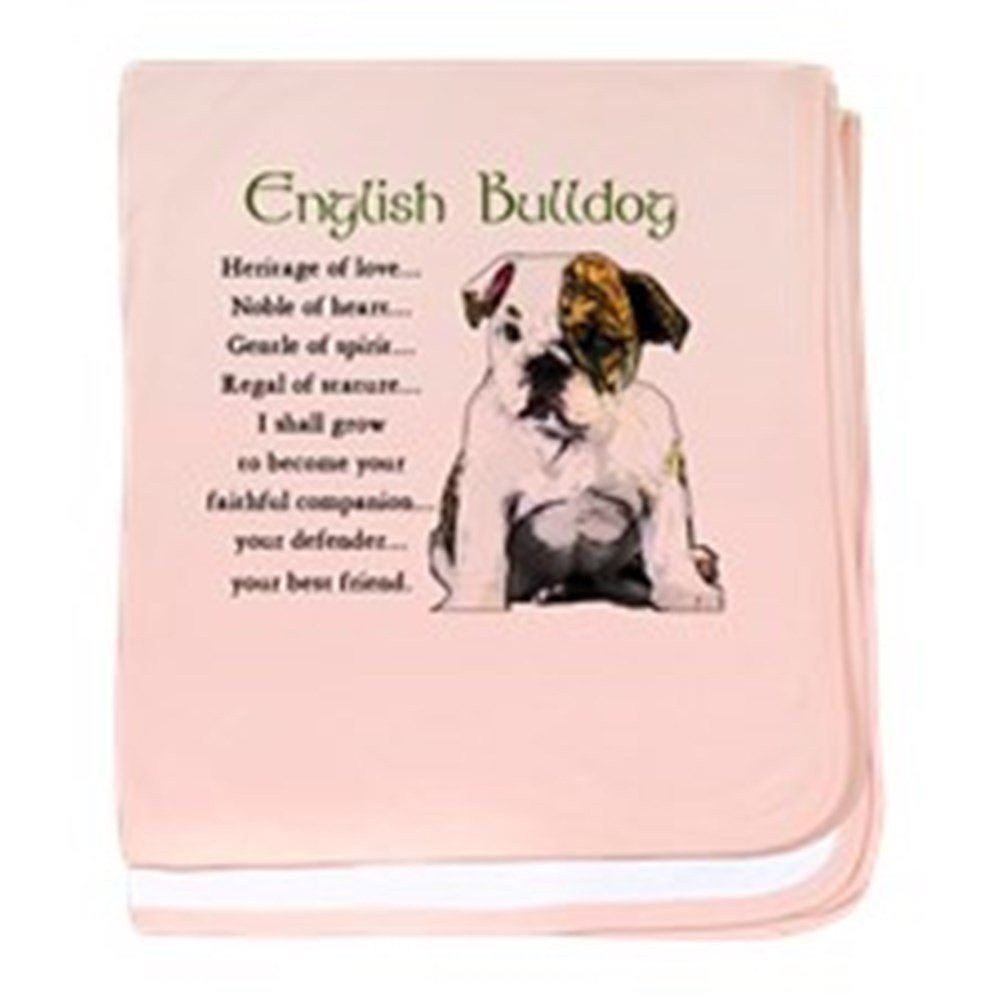 CafePress - English Bulldog - Baby Blanket, Super Soft Newborn Swaddle