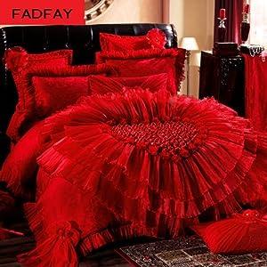 Amazon Com Fadfay Home Textile Beautiful Korean Wedding