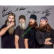 Duck Dynasty cast reprint signed photo #4 Willie Si Jase Phil Robertson RP