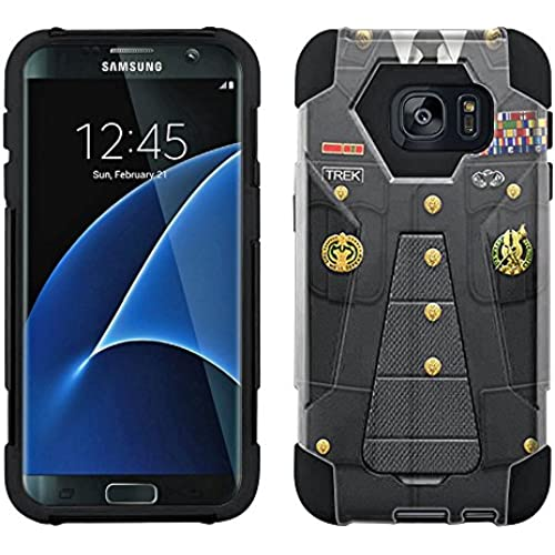 Samsung Galaxy S7 Edge Hybrid Case US Army Service Uniform 2 Piece Style Silicone Case Cover with Stand for Samsung Galaxy S7 Edge Sales