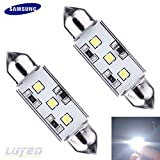 pontiac back lights - LUYED 2 X Super Bright SAMSUNG 2323 3-EX Chipsets 569 578 211-2 212-2 LED Bulbs Used For Dome light,Xenon White