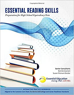 Essential reading skills preparation for high school equivalency essential reading skills preparation for high school equivalency tests teresa perrin 9781940532011 amazon books fandeluxe Choice Image