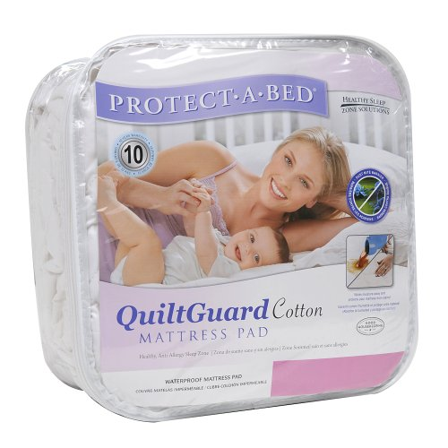 Cotton Quilt Guard Fitted Sheet Style Mattress Protector Size: Full by Protect-A-Bed