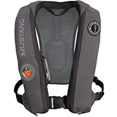 It's time to push the limits of performance without compromise. Built on a revolutionary 3D chassis, the Elite Inflatable PFD stays put at high speeds, lets you move the way you want and NEED to and provides automatic inflation powered by Hyd...
