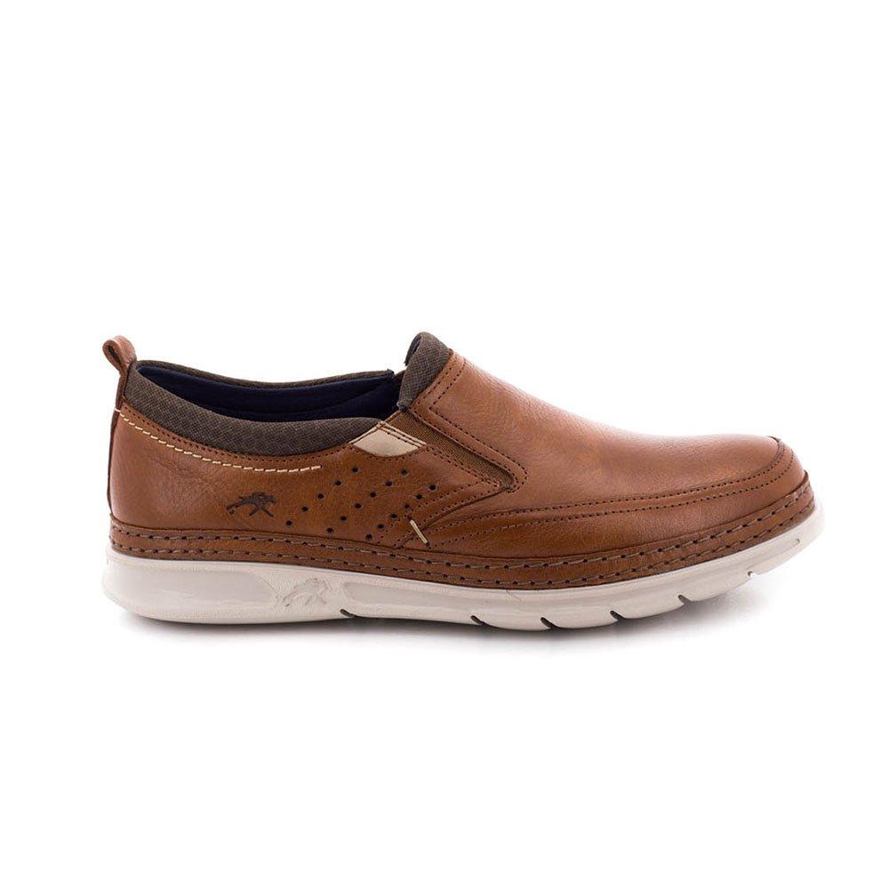 Zapato Fluchos De Piel Marron F0174_SASU 42 EU Castaño