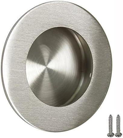 Probrico mh005 puerta corredera armario cajón mango redondo empotrable tirador para puerta corredera 6