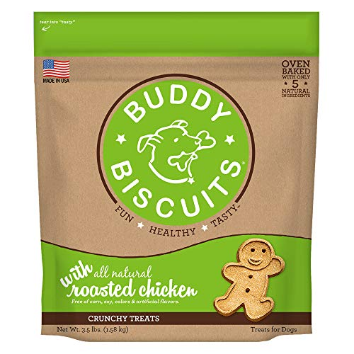 Cloudstar Pet Buddy Biscuits Original Roasted Chicken 3.5 Pounds (Cloud Buddy Star Splash)