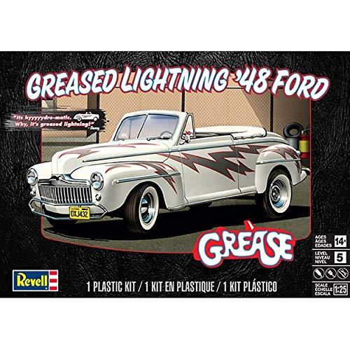 Revell 85-4443 Plastic Model Kit, Greased Lightning 48' Ford Convertible