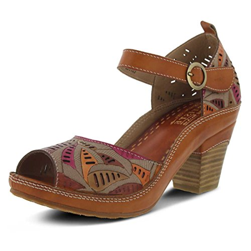 L'Artiste by Spring Step Women's Avelle Quarter Strap Sandal Camel discount the cheapest cheap discounts buy cheap with paypal 9kntWHNzcp