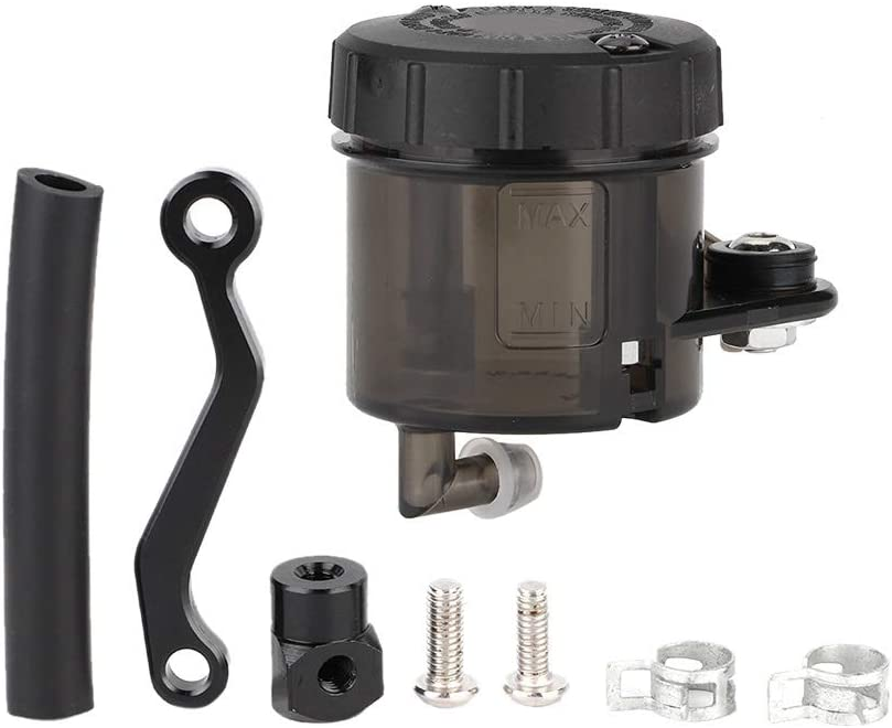 dep/ósito de aceite bomba de freno Cilindro maestro de freno taza Dep/ósito universal de l/íquido de frenos de motocicleta