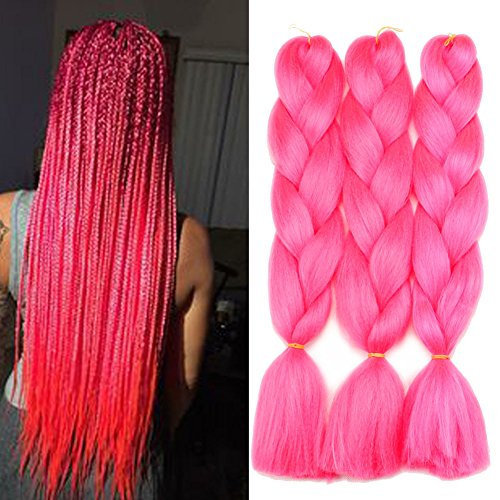 Lisshow Braiding Synthetic Extensions Temperature product image