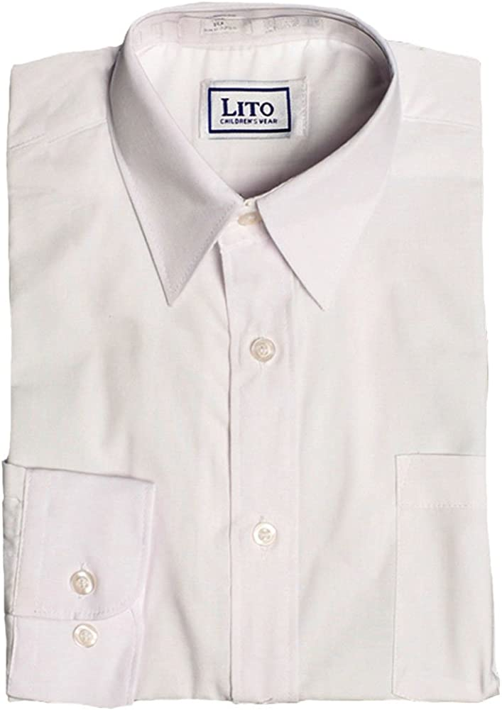 Just Character Boys White Oxford Shirt Long Sleeved Sizes from 4 to 16 Years