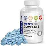 Bronson ONE Daily Mens 50+ Complete Multivitamin Multimineral (180) ..