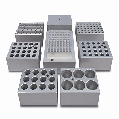 Aluminum TECHNE INCORPORATED Techne SHT1//0 Plain Block