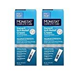 Monistat Complete Care Instant Itch Relief Cream - 2 Pack