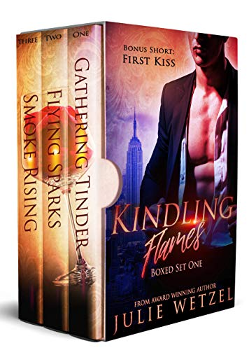 Kindling Flames Boxed Set (Books 1-3): Paranormal Romance Series, Vampires, Shifters, and More. (Kindling Flames Series Book 1) -