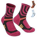 Yellow Women's Hiking Socks