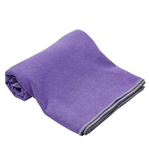 Syourself Yoga Towel-72″x24″- Non Slip,Ultra Absorbent,Soft -Perfect Microfiber Hot/Bikram/Skidless Yoga Towel-Protect Your Yoga Mat and Improve Your Grip(Yoga Towel: Purple 72) 51U0Sg7Gi7L