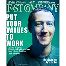 Audible Fast Company, May 2017 (English) Périodique Auteur(s) : Fast Company Narrateur(s) : Ken Borgers