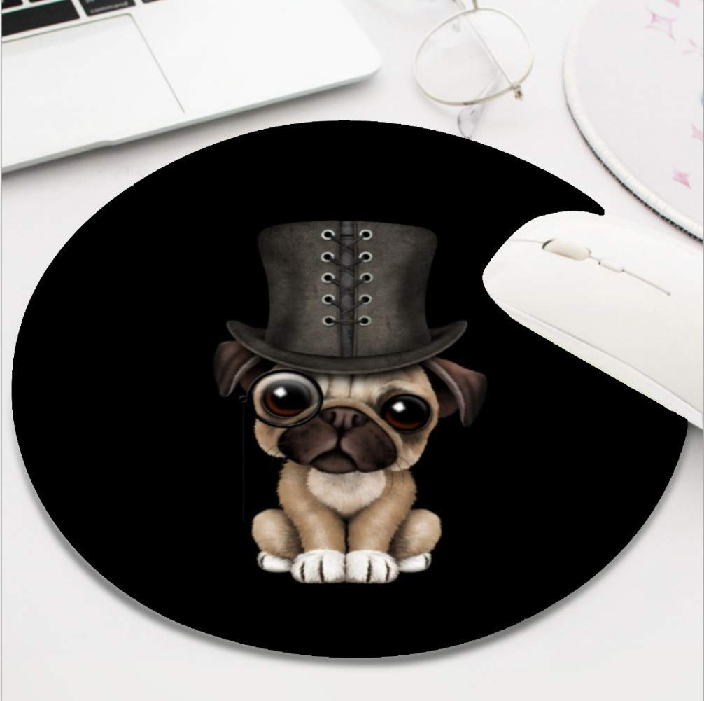 43d6cc9d3b0 Ydset cute pug puppy with monocle and top hat black jpg 1006x1001 Cute dog  monocle