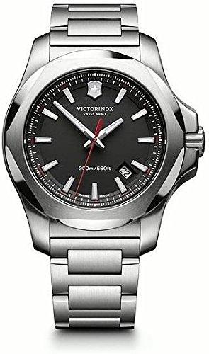 Victorinox Swiss Army–Reloj de pulsera para hombre i.n.o.x. analógico de cuarzo Acero inoxidable 241723.1
