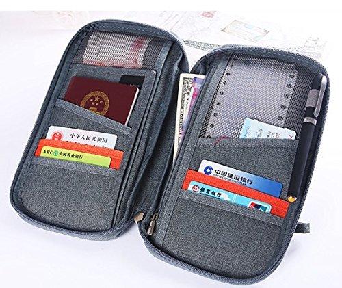 HushGecko Passport Holder Travel Organizer